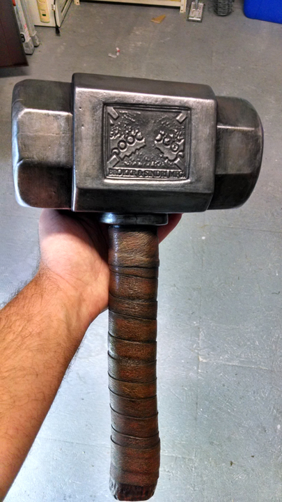 Finished Mjolnir